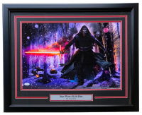 "Greg Horn Signed Star Wars ""Kylo Ren"" 20x26 Custom Framed Lithograph Display (JSA COA)"