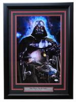 "Greg Horn Signed Star Wars ""Darth Vader"" 20x26 Custom Framed Lithograph Display (JSA COA) at PristineAuction.com"