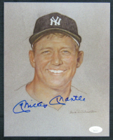 Mickey Mantle Signed New York Yankees 8x10 Print (JSA LOA) at PristineAuction.com