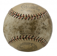 Babe Ruth & Christy Walsh Signed Baseball with High-Quality Display Case (PSA LOA) at PristineAuction.com