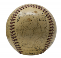 1940 Pittsburgh Pirates Baseball Team-Signed by (27) with Honus Wagner, Frank Frisch, Arky Vaughan, Mace Brown, Ray Berres, Rip Sewell, Bill Brubaker, Ray Harrell (PSA LOA) at PristineAuction.com