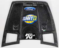 Ricky Stenhouse Jr. Signed Race-Used Sunny D #17 Full Hood Sheet Metal (PA COA) at PristineAuction.com