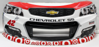Kyle Larson Signed Race-Used Target #42 Full Nose Bumper Sheet Metal (PA COA) at PristineAuction.com