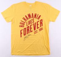 Hulk Hogan Signed Hulkamania Shirt (JSA COA)