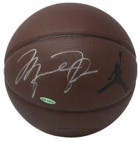 Michael Jordan Signed Air Jordan Basketball (UDA Hologram)