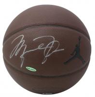 Michael Jordan Signed Air Jordan Basketball (Beckett LOA & UDA Hologram) at PristineAuction.com