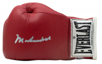 Muhammad Ali Signed Everlast Boxing Glove (Beckett LOA)