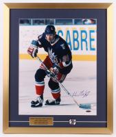 Wayne Gretzky Signed New York Rangers 21.5x25.5 Custom Framed Photo Display with Gretzky Pin (UDA Hologram)