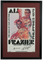 "Muhammad Ali & Joe Frazier Signed ""Thrilla In Manila"" 18x24 Custom Framed Print Display (Beckett LOA) at PristineAuction.com"