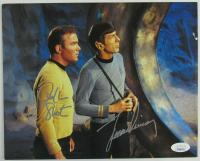 "William Shatner & Leonard Nimoy Signed ""Star Trek"" 8x10 Photo (JSA COA)"