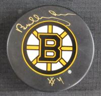 Bobby Orr Signed Boston Bruins Logo Hockey Puck (JSA COA)