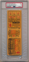 1923 New York Yankees First World Series Win Game 6 Ticket (PSA 1.5)
