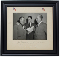 "Jim Thorpe Signed 11x14 Custom Framed Photo Display Inscribed ""To My Friend"" & ""1952"" (PSA LOA) at PristineAuction.com"