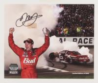 Dale Earnhardt Jr. Signed Limited Edition NASCAR #8 Budweiser 9x7 Photo (Dale Jr. Hologram) (Imperfect) at PristineAuction.com