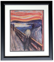 "Edvard Munch ""The Scream"" 18x20 Custom Framed Print Display"