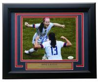 Rose Lavelle Signed Team USA 2019 FIFA World Cup Champion 11x14 Custom Framed Photo Display (JSA COA) at PristineAuction.com