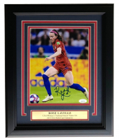 Rose Lavelle Signed Team USA 2019 FIFA World Cup Champion 11x14 Custom Framed Photo Display (JSA COA) at PristineAuction.com