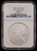 2010 American Silver Eagle $1 One Dollar Coin - Early Releases (NGC MS69)