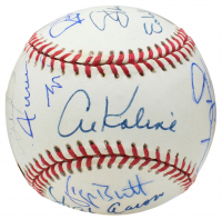 3000 Hit Club OAL Baseball Signed by (15) with Stan Musial, Willie Mays, Al Kaline, Lou Brock, Hank Aaron (TriStar Hologram) at PristineAuction.com