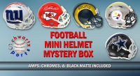 Schwartz Sports Football Superstar Signed Mini Helmet Mystery Box - Series 15 (Limited to 100) at PristineAuction.com