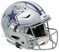 Dak Prescott Signed Dallas Cowboys Full-Size Authentic On-Field SpeedFlex Helmet (Beckett COA & Prescott Hologram) at PristineAuction.com