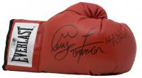 George Foreman & Evander Holyfield Signed Everlast Boxing Glove (JSA COA & Foreman Hologram) at PristineAuction.com