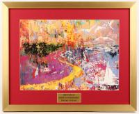 "LeRoy Neiman ""Monte Carlo Grande Prix"" 19.5x24 Custom Framed Print Display at PristineAuction.com"