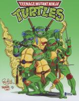"Peter Laird Signed ""Teenage Mutant Ninja Turtles"" 8x10 Photo Inscribed ""2019"" (Beckett COA)"