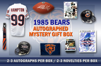 1985 Chicago Bears World Champs Mystery Autograph Gift Box – Series 7 (Limited to 85) – **Grand Prize TEAM Signed Super Bowl XX Program**
