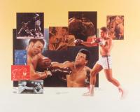 Muhammad Ali Signed LE 18x22.5 Lithograph (PSA LOA)
