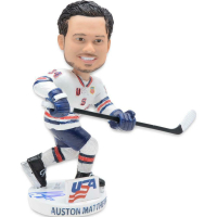 Auston Matthews Signed Team USA LE Bobblehead (Fanatics Hologram) at PristineAuction.com