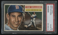 1956 Topps #5 Ted Williams (PSA 6)