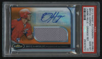 2012 Finest Rookie Jumbo Relic Autographs Orange Refractors #BH Bryce Harper #96/99 (PSA 10) at PristineAuction.com