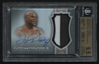 2017 Topps Dynasty Autograph Patches #APFM4 Floyd Mayweather Jr. #08/10 (BGS 9.5) at PristineAuction.com