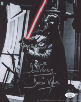 "David Prowse & James Earl Jones Signed ""Star Wars"" 8x10 Photo Inscribed ""Is Darth Vader"" (JSA COA)"