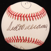 Pete Rose, Ted Williams & Stan Musial Signed OAL Baseball (JSA ALOA) at PristineAuction.com
