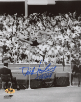 "Dick Fosbury Signed 8x10 Photo Inscribed ""68 Gold"" (MAB Hologram) at PristineAuction.com"