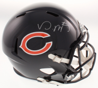 David Montgomery Signed Chicago Bears Full-Size Speed Helmet (JSA COA) at PristineAuction.com