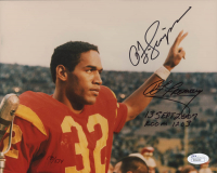 """O.J. Simpson Signed Infamous Las Vegas Robbery 8x10 Photo Inscribed """"13 Sept 2007"""" & """"Room 1203""""  (JSA COA & Fromong COA) at PristineAuction.com"""