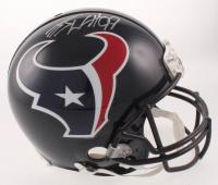J.J. Watt Signed Houston Texans Full-Size Authentic On-Field Helmet (JSA COA & Watt Hologram)