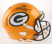 Jordy Nelson Signed Packers Full-Size Authentic On-Field Speed Helmet (JSA COA) at PristineAuction.com