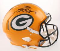 Jordy Nelson Signed Green Bay Packers Full-Size Authentic On-Field Speed Helmet (JSA COA)