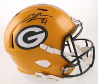 Charles Woodson Signed Green Bay Packers Full-Size Speed Helmet (Beckett COA)
