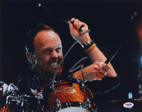 Lars Ulrich Signed 11x14 Photo (PSA COA) at PristineAuction.com
