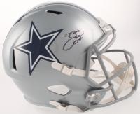Emmitt Smith Signed Dallas Cowboys Full-Size Speed Helmet (Beckett COA & Prova Hologram)