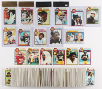 1979 Topps Football Complete Set of (528) Cards with #308 Ozzie Newsome RC (BGS 8.5), #310 James Lofton RC (BGS 6.5), #335 Walter Payton (BGS 7.5), #200 Fran Tarkenton (BGS 8)