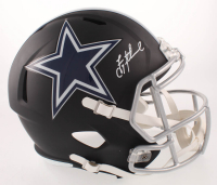 Troy Aikman Signed Dallas Cowboys Full-Size Matte Black Speed Helmet (Beckett COA)