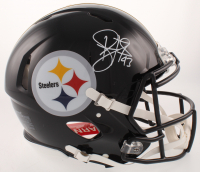 Troy Polamalu Signed Pittsburgh Steelers Full-Size Authentic On-Field Speed Helmet (Beckett COA)