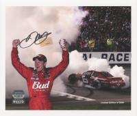 Dale Earnhardt Jr. Signed NASCAR LE 8.5x10 Photo (Mounted Memories Hologram & Earnhardt Jr. Hologram) at PristineAuction.com
