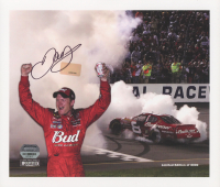 Dale Earnhardt Jr. Signed NASCAR LE 8.5x10 Photo (Mounted Memories Hologram & Earnhardt Jr. Hologram) at PristineAuction.com